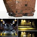 LEGO Star Wars Sandcrawler = 10,000 Pieces + 9 Months Work… Utinni!
