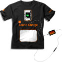 Orange's Sound Charge Shirt Concept Uses Loud Music To Keep Your Mobile Phone Powered