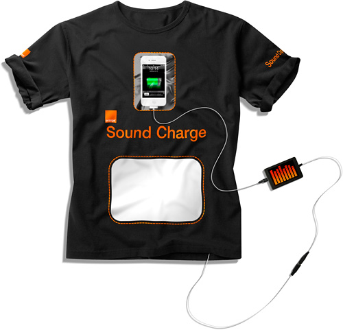 Orange Sound Charge Shirt (Image courtesy Orange)