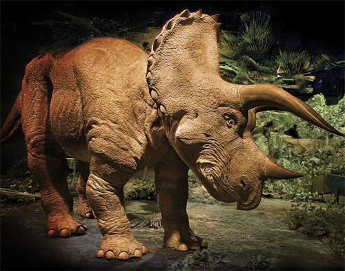 Animatronic Triceratops (Image courtesy Hammacher Schlemmer)