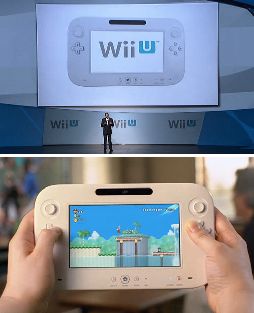 Nintendo WiiU (Images courtesy Nintendo)