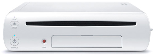 Nintendo WiiU (Image courtesy Nintendo)