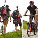 Bergmönch Backpack Scooter Makes Descents More Entertaining, Ascents More Gruelling