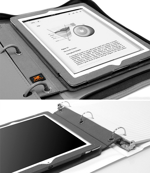 BinderPad iPad Case (Images courtesy ZooGue)