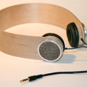 Custom Birch Plywood Headphones