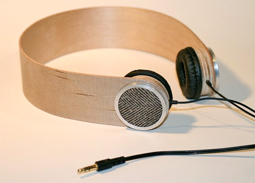 Custom Birch Plywood Headphones (Image courtesy Etsy)