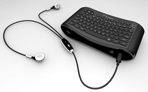 Cideko Air Keyboard Chatting (Image courtesy CompuExpert)