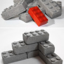 Concrete LEGO Blocks Will Ensure Your Childhood Memories Last Forever