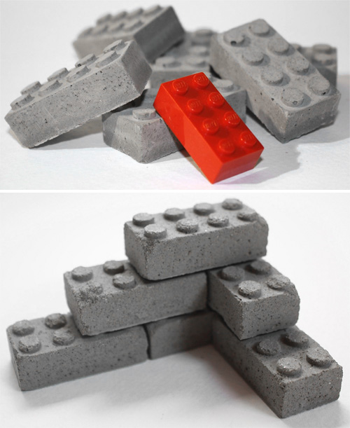 Concrete Building Blocks (Images courtesy Etsy seller studio1015)