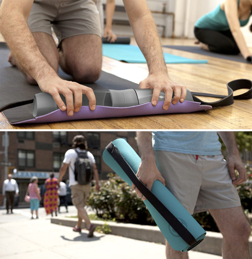 Core Yoga Mat Organizer (Images courtesy Quirky)
