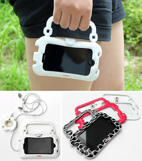 iPhone 4 Handbag Case (Images courtesy designboom)