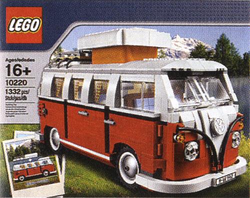 LEGO Volkswagen T1 Camper Van (Image courtesy Captain Eugene)