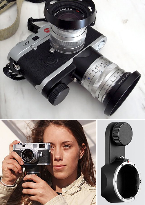 Lecia Lens Holder M (Images courtesy Leica)