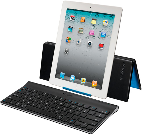 Logitech Tablet Keyboard for iPad (Image courtesy Logitech)