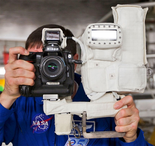 NASA Nikon D2Xs (Image courtesy NASA)