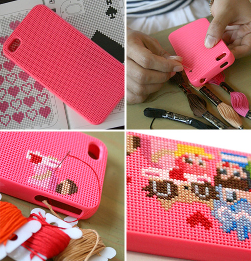 Neostitch iPhone 4 Case (Images courtesy Connect design)