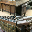 The Most Elaborate (And Most Likely Only) Pipe Organ Desk You're Going To Find