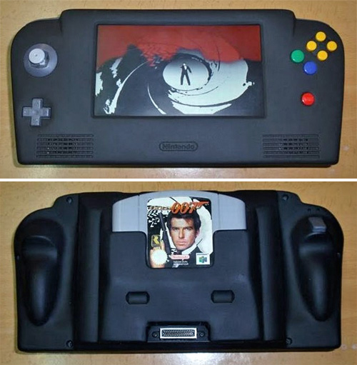 Portable N64 (Images courtesy AcidCow.com)