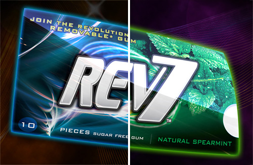 Rev7 Gum (Images courtesy Revolymer Limited)