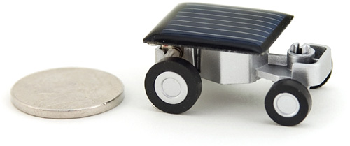 The World's Smallest Solar Car (Image courtesy MCA Store)