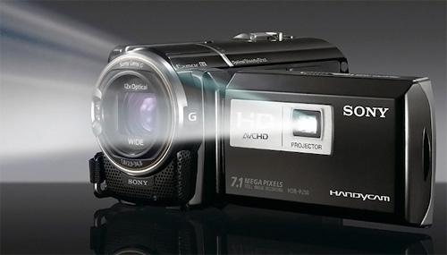 Sony Handycam HDR-PJ50 (Image courtesy Sony)