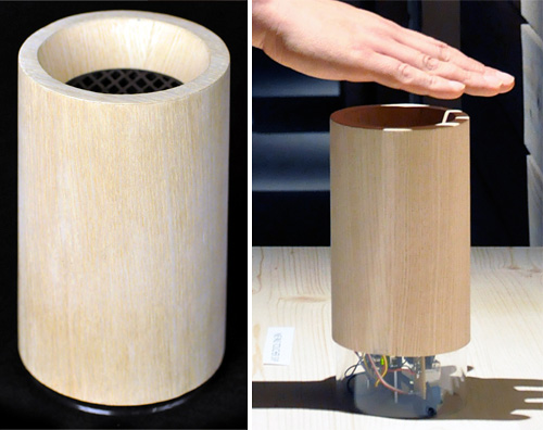 Soundsitive Gesture-Controlled Speaker (Images courtesy designboom)