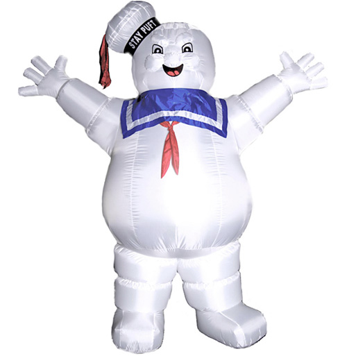 Inflatable Stay Puft Marshmallow Man (Image courtesy TFAW.com)