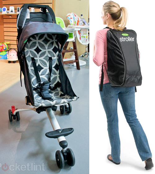 QuickSmart Backpack Stroller (Images courtesy Pocket-lint & QuickSmart)