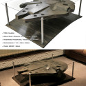 70's (Millennium) Falcon Coffee Table