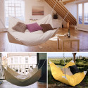 Le Beanock – An Awkwardly Named Bean Bag Chair + Hammock Mashup