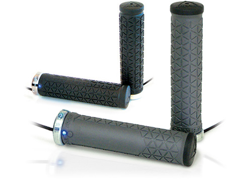 A'ME Heated Bike Grips (Images courtesy A'ME)