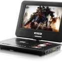 9-Inch Portable DVD Player Also Rips Audio CDs, Plays ROMs, Turns A Blind Eye To Certain 'Laws'