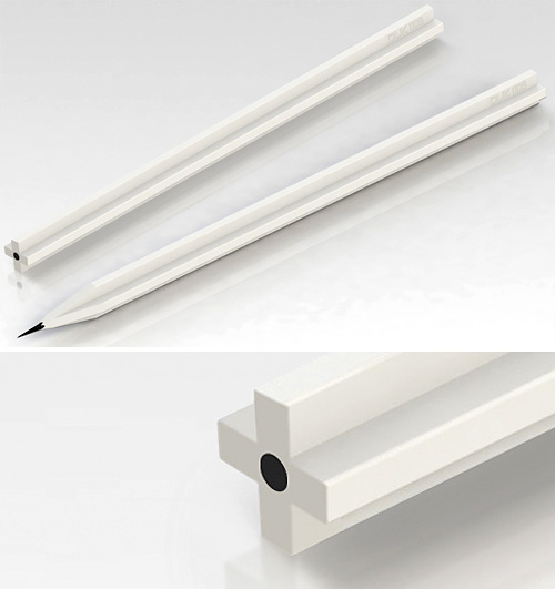 Eraser Pencil (Images courtesy Deuk Young Lee)