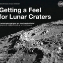 NASA's 'Getting A Feel For Lunar Craters' Book Features Tactile Diagrams Of The Moon For The Visually Impaired