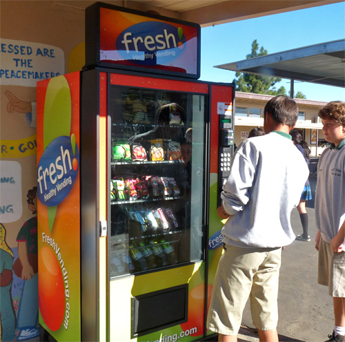 Fresh Healthy Vending Machines (Image courtesy Fresh Healthy Vending)