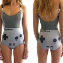 Game Boy Print Swimsuit