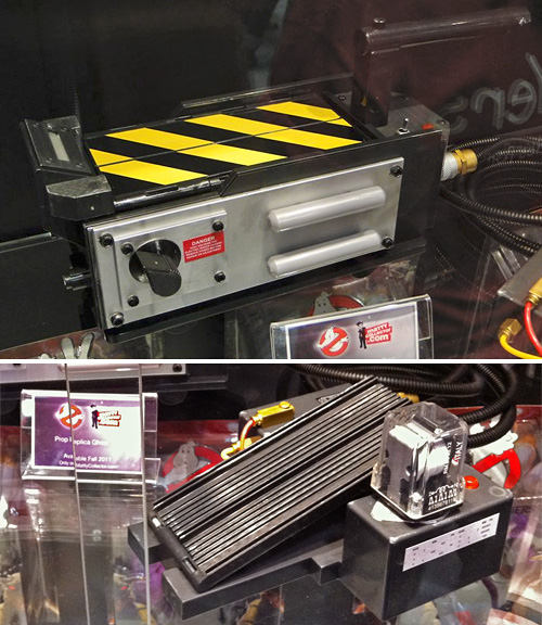 Mattel Ghostbusters Trap Prop Replica (Images courtesy /Film & The RPF Forum)