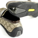 Garish Gucci Mocassins With Carbon Fiber Heels