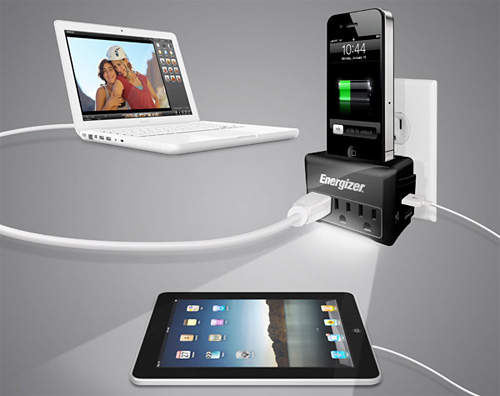 Energizer iSurge Travel Charging Station (Image courtesy Energizer)