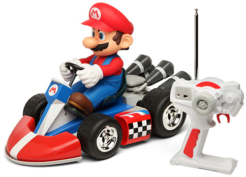 Super Deluxe Mario R/C Cars (Image courtesy ThinkGeek)