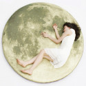 Full Moon Odyssey Floor Pillow – Be The (Wo)Man On The Moon