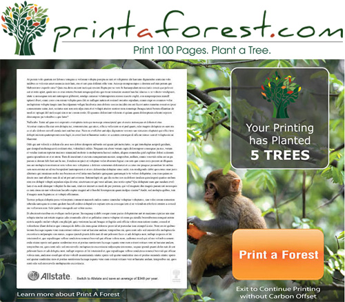 Print a Forest (Images courtesy Print a Forest)