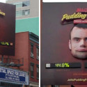Jell-O's Creepy 'Pudding Face' Billboard Reflects The Mood On Twitter