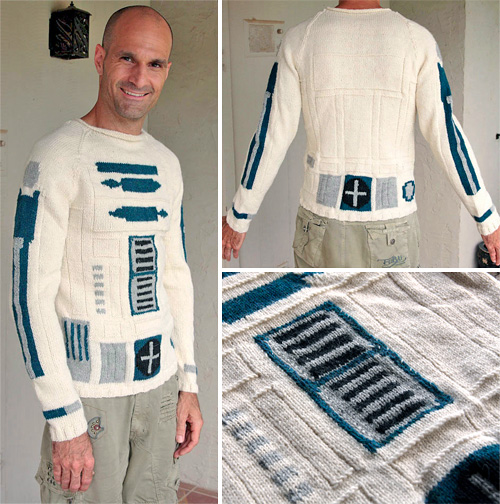 Star Wars R2-D2 Sweater (Images courtesy Etsy)