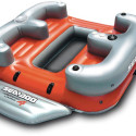 Sea-Doo 4 Person Inflatable Aqua Lounge Includes Its Own Sound System