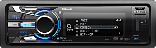 Sony DSX-S310BTX Car Stereo (Image courtesy Sony)