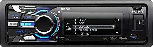 Sony DSX-S310BTX Car Stereo (Image courtesy Sony)