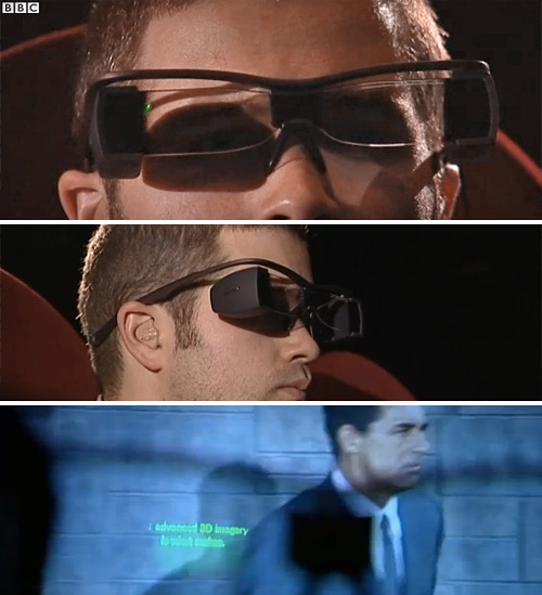 Sony's Movie Theater Subtitle Glasses (Images courtesy BBC News)