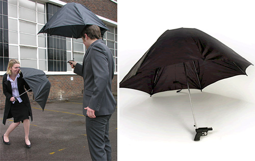Squirt Gun Umbrella (Images courtesy Alex Woolley)