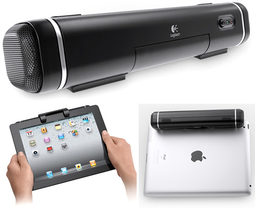 Logitech Tablet Speaker (Images courtesy Logitech)